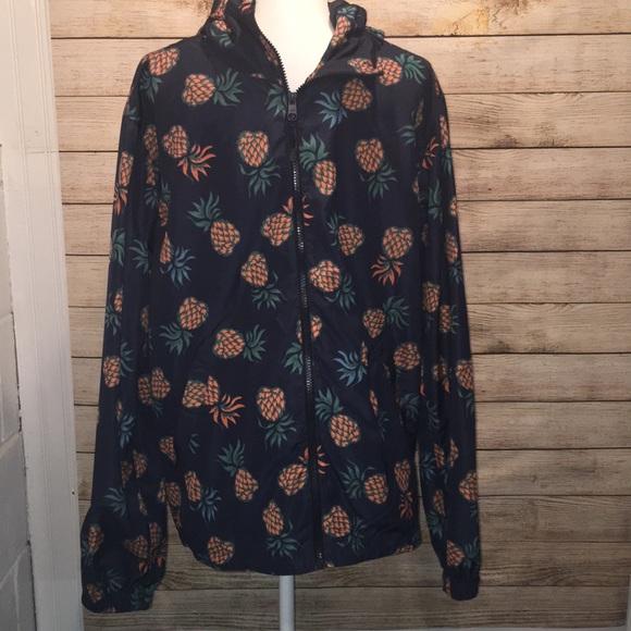 57f606e5 H&M Pineapple design jacket